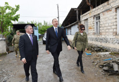 Azeri president says Yerevan under pressure over Karabakh