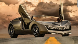 Qatar's first homegrown supercar feels the heat for its distinctive design
