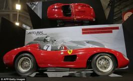 Messi 'was mystery buyer of £25million classic Ferrari that is the world's most expensive car