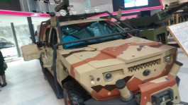 Azerbaijan showcases new armored fighting vehicle