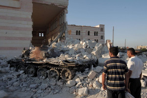 Russia and Turkey trade accusations over Syria