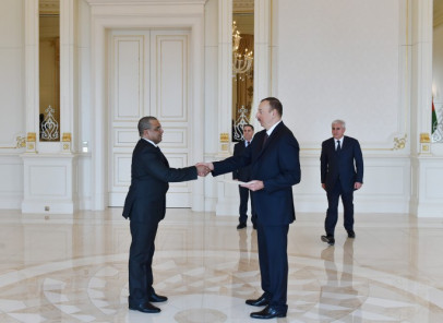 Azerbaijani President receives credentials from ambassadors of several countries