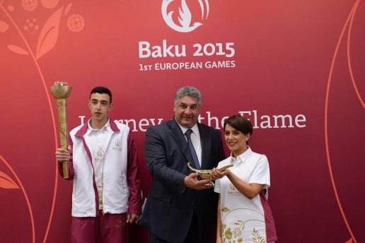 Baku 2015 announces Journey of the Flame route