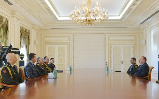 Aliyev meets visiting chief of Turkish General Staff