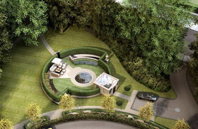 The luxury home that's completely underground