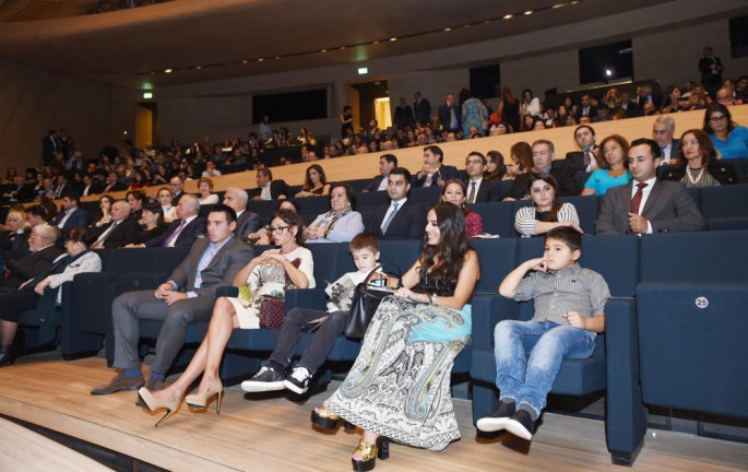 Mehriban Aliyeva attends 'Ali and Nino' movie premiere