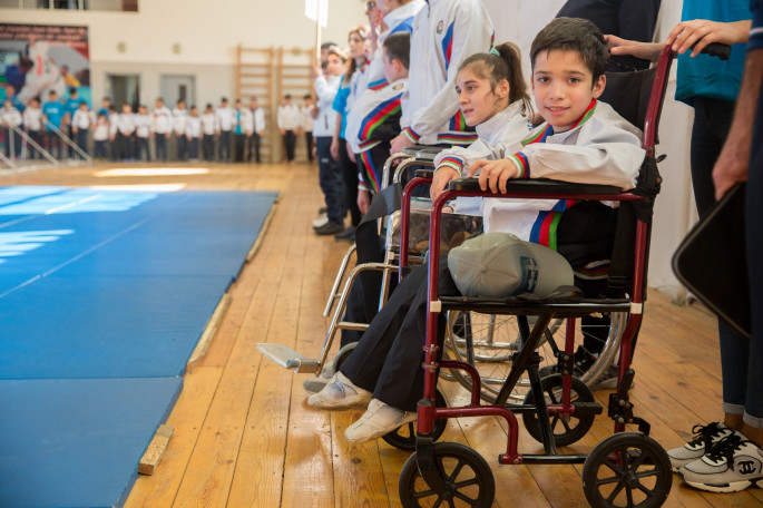 II Children's Paralympic Games supported by Azercell ends