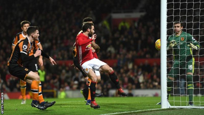 Manchester United 2 - 0 Hull City