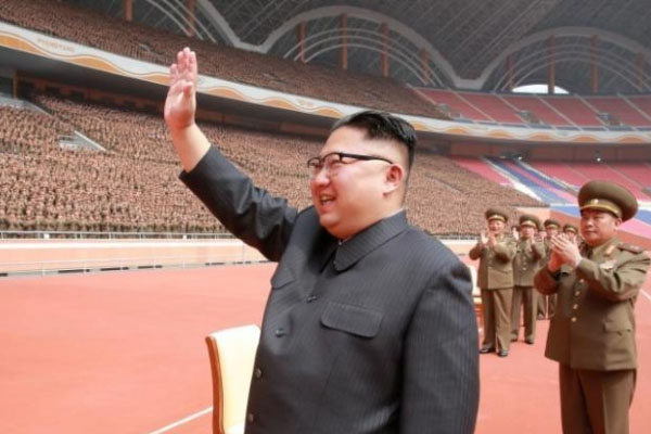 North Korea leader Kim guides test of new anti-aircraft weapon  Zoom