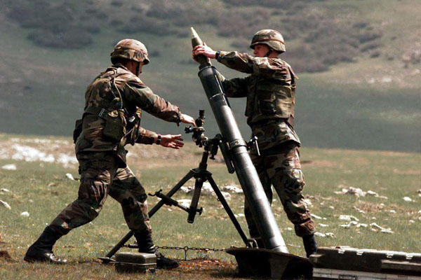 Armenians violated ceasefire 125 times a day