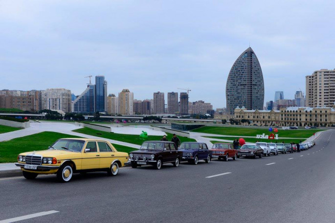 Baku will host race of classic automobiles