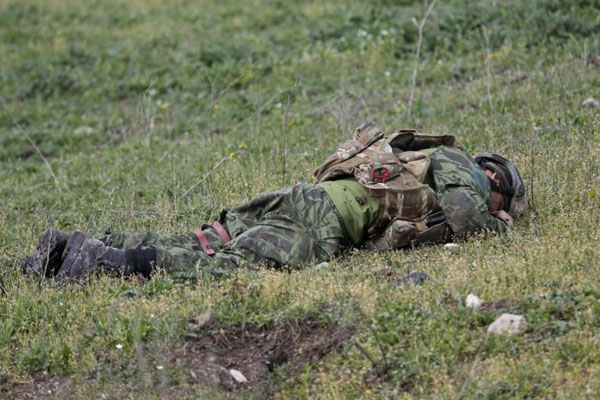Azerbaijan prevents another Armenian sabotage, 1 killed (VIDEO)
