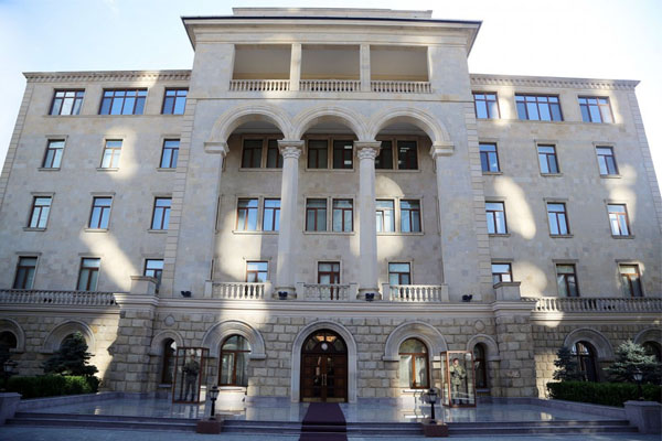 Ministry of Defense: This is primitive falsification and vile lie of Armenian special services