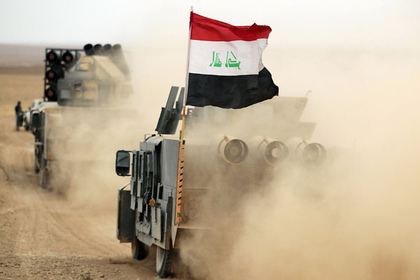 Iraqi army deploy in districts of Kirkuk