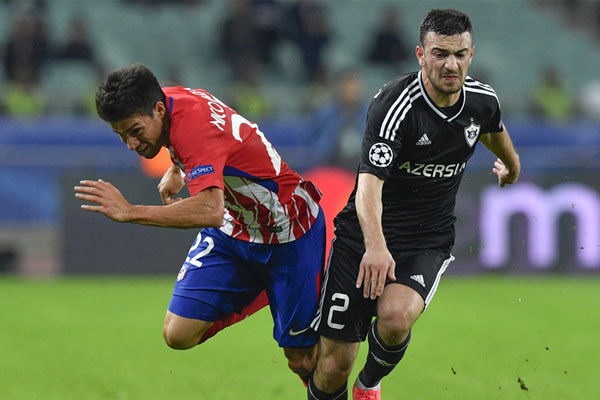 Qarabag gets first UEFA Champions League Group point