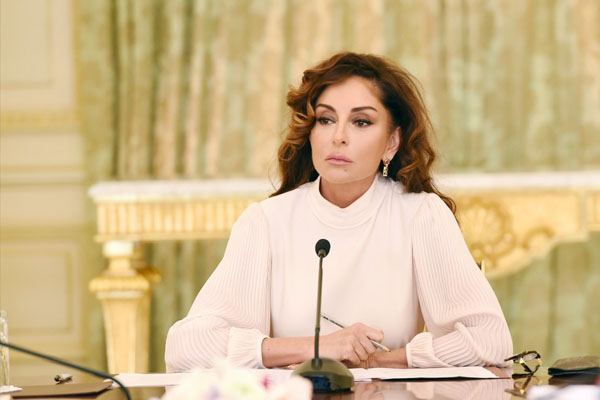 Azerbaijan's first VP Mehriban Aliyeva awarded Order of Russian Orthodox Church