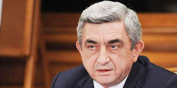 Serzh Sargsyan's health deteriorated and he hospitalized