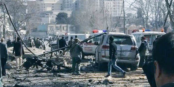 Explosion in Kabul kills 40 people, wounds 140