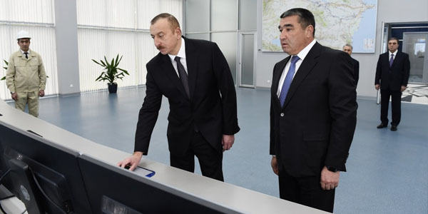 President launches newly-renovated Mingachevir Hydroelectric Power Station (PHOTO)