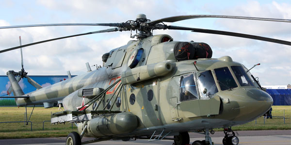 Russia's Mi-8 helicopter crashes in Chechnya: 6 dead (UPDATED)