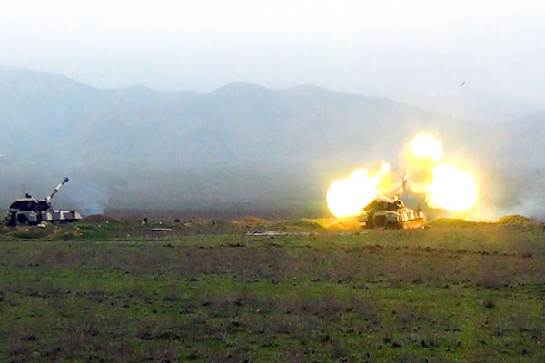 Rocket and artillery units launch live-fire exercises (PHOTO/VIDEO)