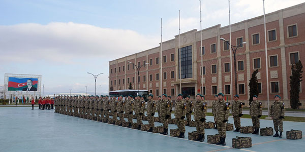 A group of Azerbaijani peacekeepers sent to Afghanistan (PHTO/VIDEO)