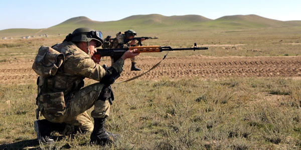 Armenian troops violated ceasefire 98 times a day