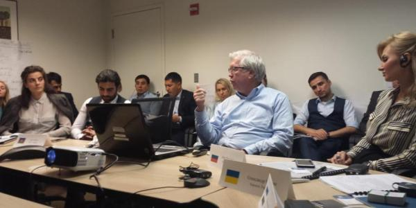 BBF Board meets with IEDC President in Washington (PHOTO)