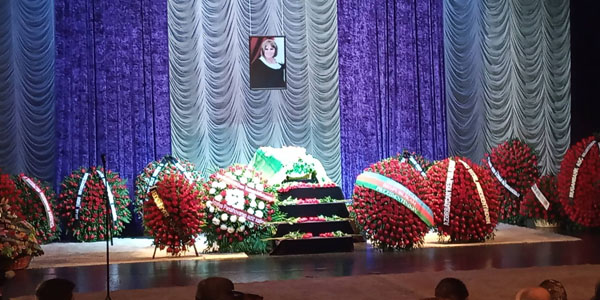 People's artist Amaliya Panakhova laid to rest (PHOTO/VİDEO)