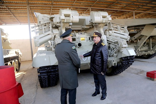 Defense Minister got acquainted with the new facilities in the military units of the Engineer Troops and the Chemical Protection Troops (PHOTO/VIDEO)