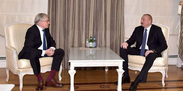 Ilham Aliyev receives chairman of Dutch-Azerbaijan Friendship Group