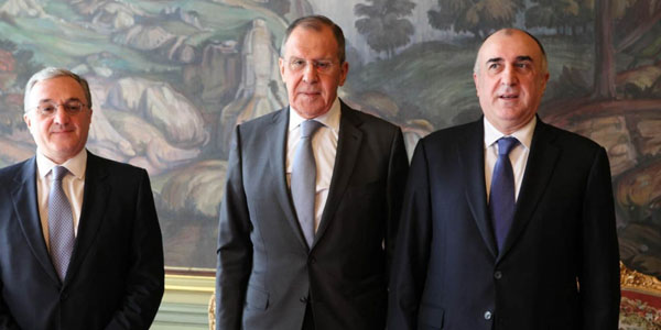 Foreign Ministers of Azerbaijan and Armenia start meeting in Moscow