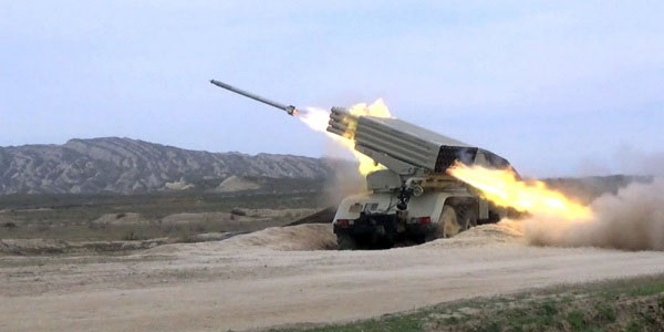 Rocket and artillery units conducted live-fire training (PHOTO/VIDEO)
