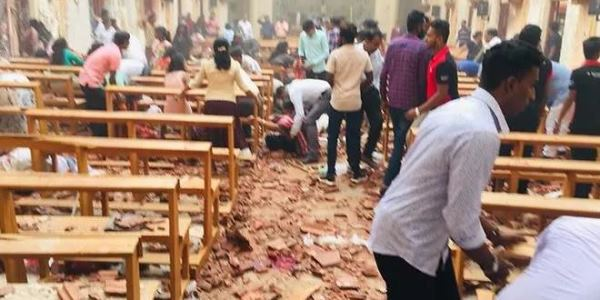 Easter Day bombs kill 160 in attacks on Sri Lankan churches, hotels (VİDEO)