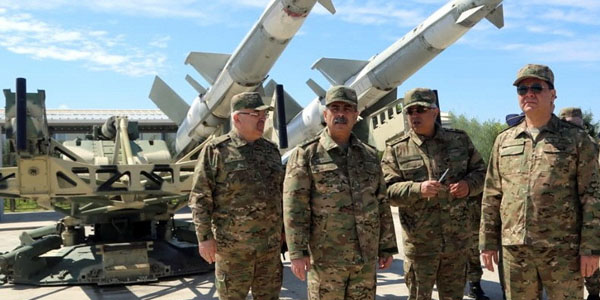Azerbaijan Defense Minister took part in the opening of a new command post of the Air Force Base (PHOTO/VIDEO)