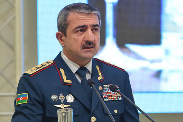 Elchin Guliyev discusses situation on border with his Georgian counterpart