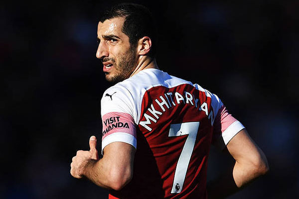 Arsenal not to bring Henrikh Mkhitaryan to Baku (OFFICIAL)