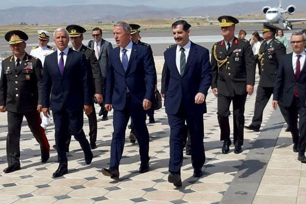 Minister of National Defense of Turkey embarks on a visit to Nakhchivan (PHOTO)