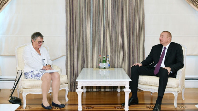 Azerbaijani President receives delegation led by PACE President