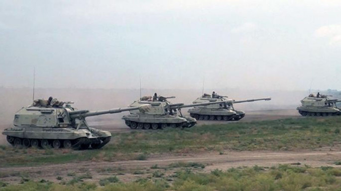 The troops involved in the large-scale exercises occupy concentration areas (PHOTO/VİDEO)