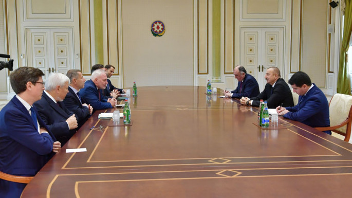 President Ilham Aliyev received OSCE Minsk Group co-chairs