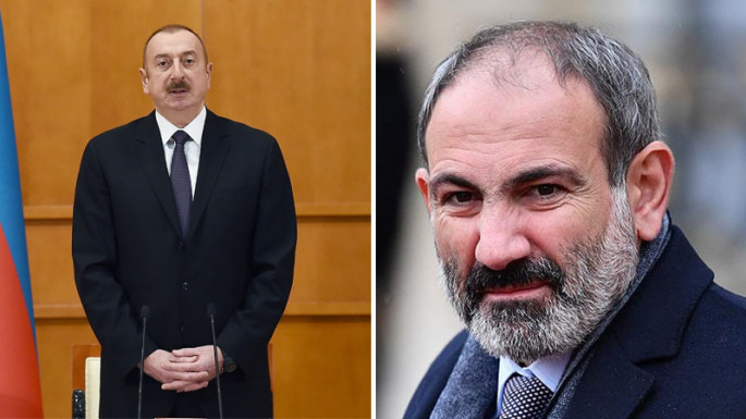 Meeting between Azerbaijani President and Armenian PM in MSC2020 started (PHOTO)