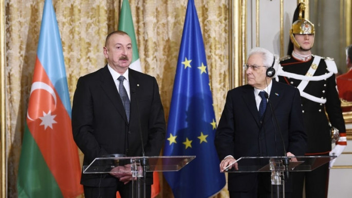 Azerbaijani, Italian presidents made press statements (PHOTO)