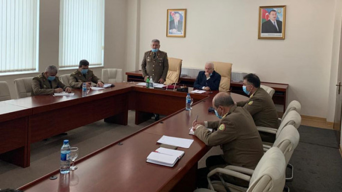 Operational meeting, dedicated to the extinguishing of fire in EuroHome, held in Azerbaijani MES (PHOTO)