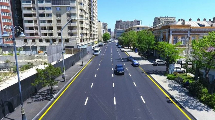 New road junction being created on Yusif Safarov street of Baku (PHOTO)