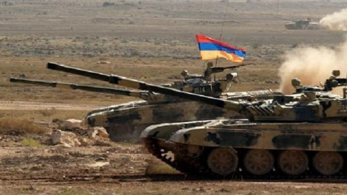 Armenians conduct military exercises in occupied Azerbaijani territories