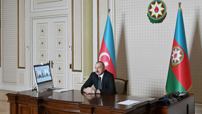 President Ilham Aliyev and UN WTO Secretary General meet via videoconferencing