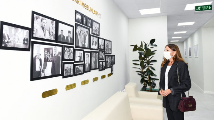 First vice-president Mehriban Aliyeva attends inauguration of new building of Children's Fine Arts School in Bulbula settlement