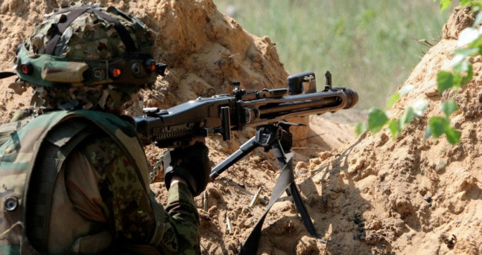 Defence Minsitry on situation on front line