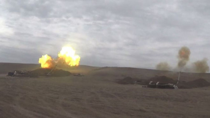 Azerbaijani MoD: Artillery units inflict crushing blow on the enemy (VIDEO)